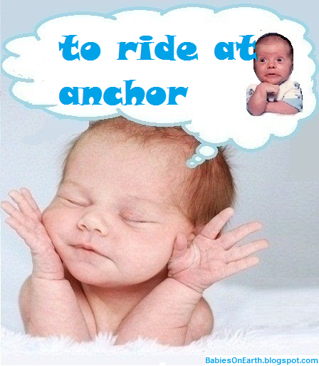 to ride at anchor