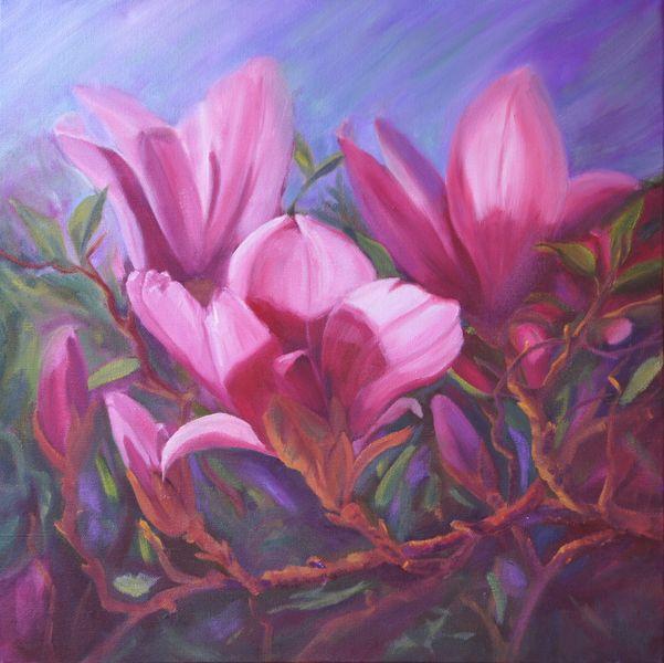 magnolia painting - photo #29