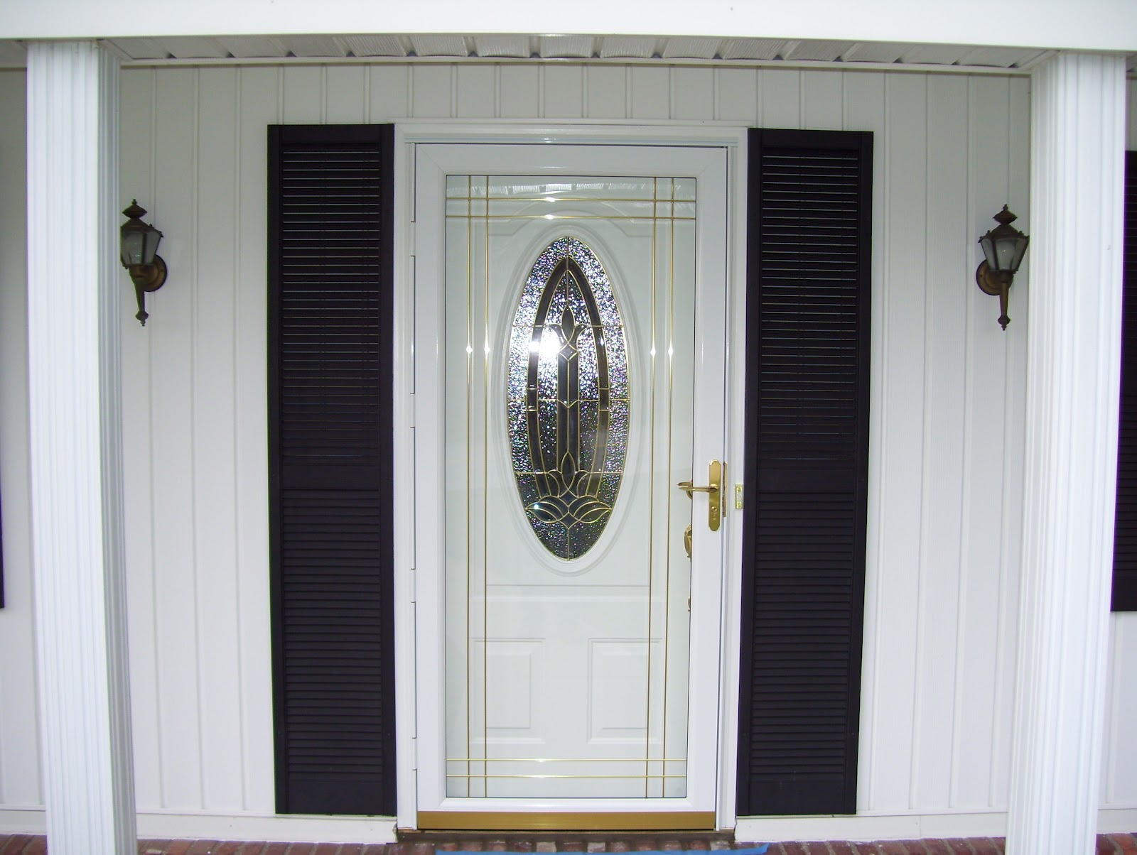 1204 #7B6C43  Door Features Decorative Grids To Enhance The Ornate Design Of The picture/photo Ornate Front Doors 39791600