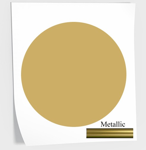 gold vinyl polka dot wall stickers