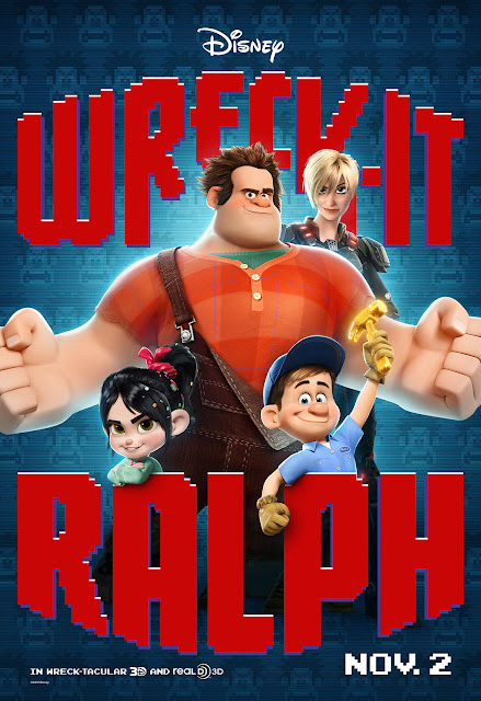 main character ralph in the front