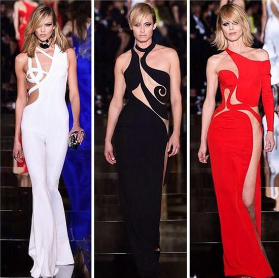 PFW 2015 Atelier Versace