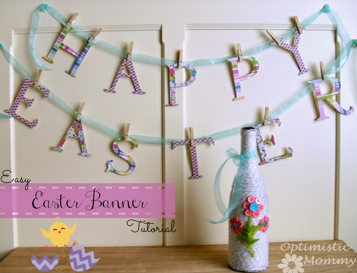 Easter Banner tutorial