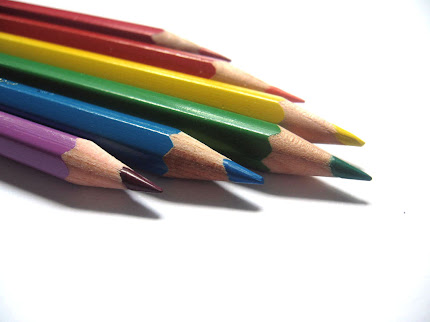 gambaar pensil warna