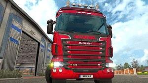 Scania V8 sound mod