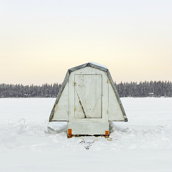 Ill Seen Ill Said Ice Fishing Huts By Richard Johnson