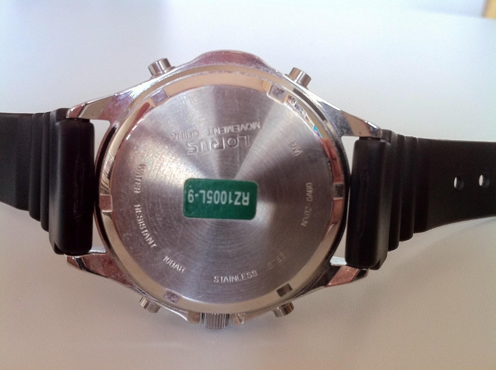 lorus digital watch instructions