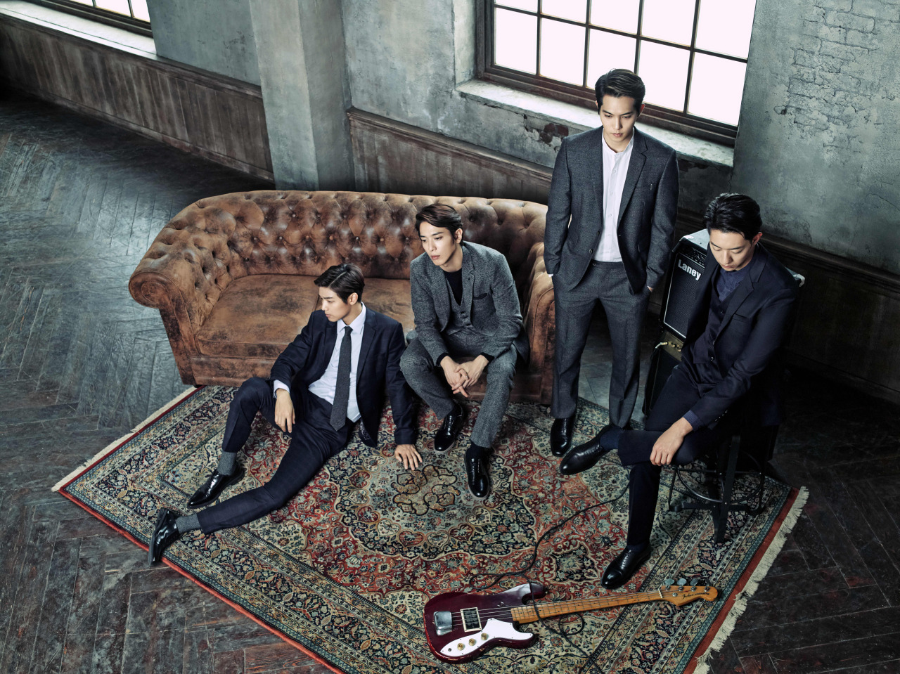 CN Blue Korean Boy Band