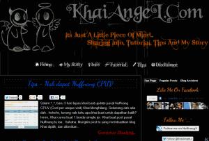 KhaiAngeL(Dot)Com Tukar Banner