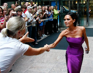 Ladies: Victoria Beckham Thinks She Is One of Us