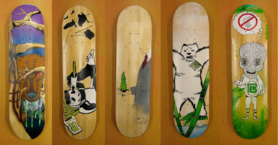 Painted%2BOSF%2BBamboo%2BSK8boards%2B2 Oasis Skateboard Factory
