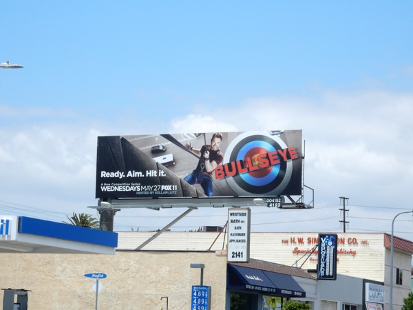 Bullseye season 1 billboard