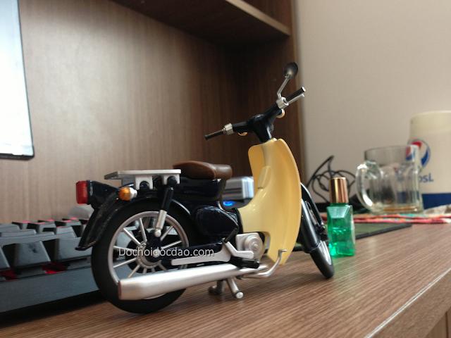 Mô Hình Xe Honda Cub 6