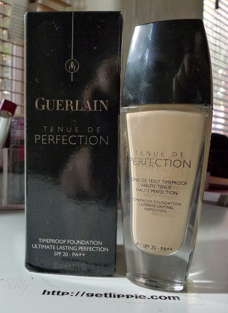 Guerlain Tenue De Perfection Foundation Review