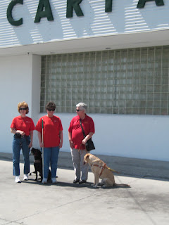 Nancy, Laurel and Audrey in front of CARTA