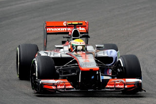 McLaren 2012 German GP Upgrades