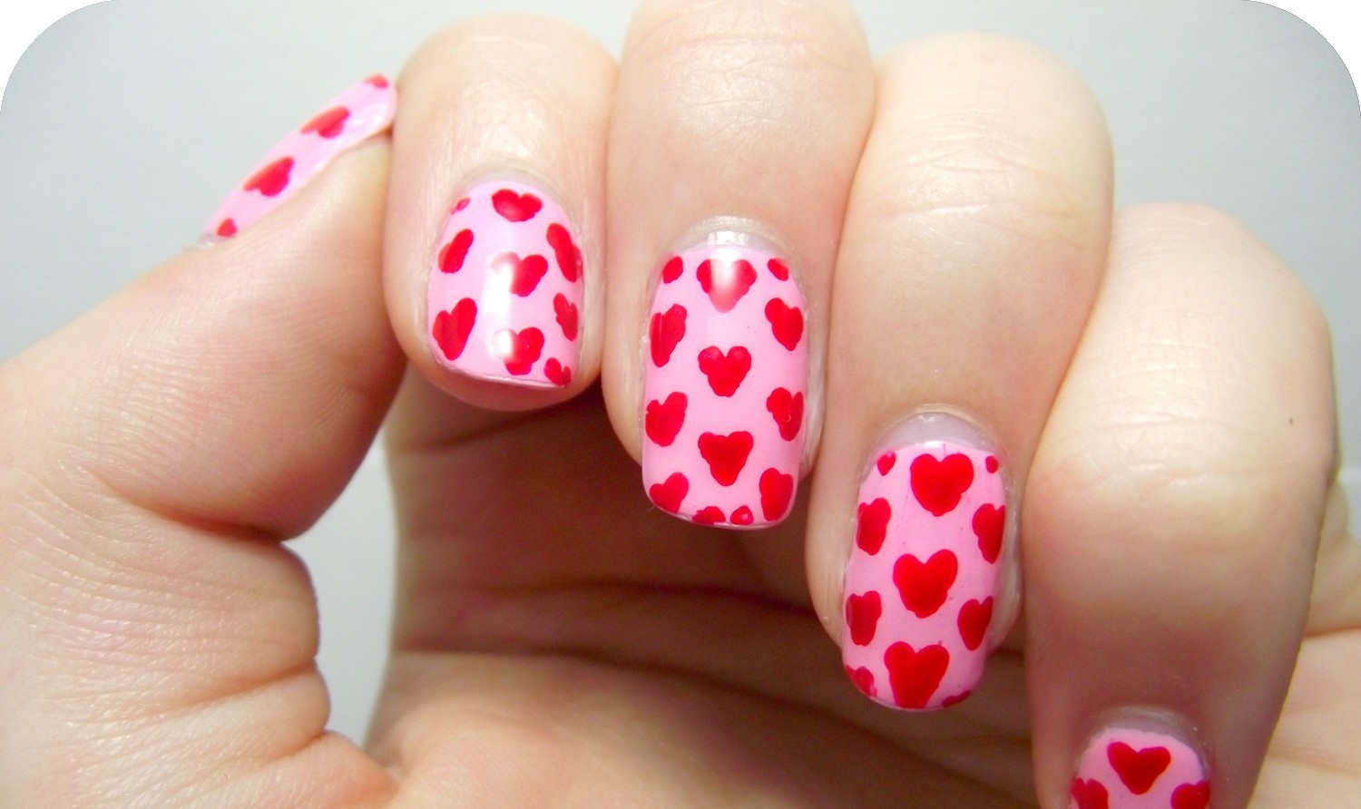 Nail Art Heart Designs | Fashionate Trends
