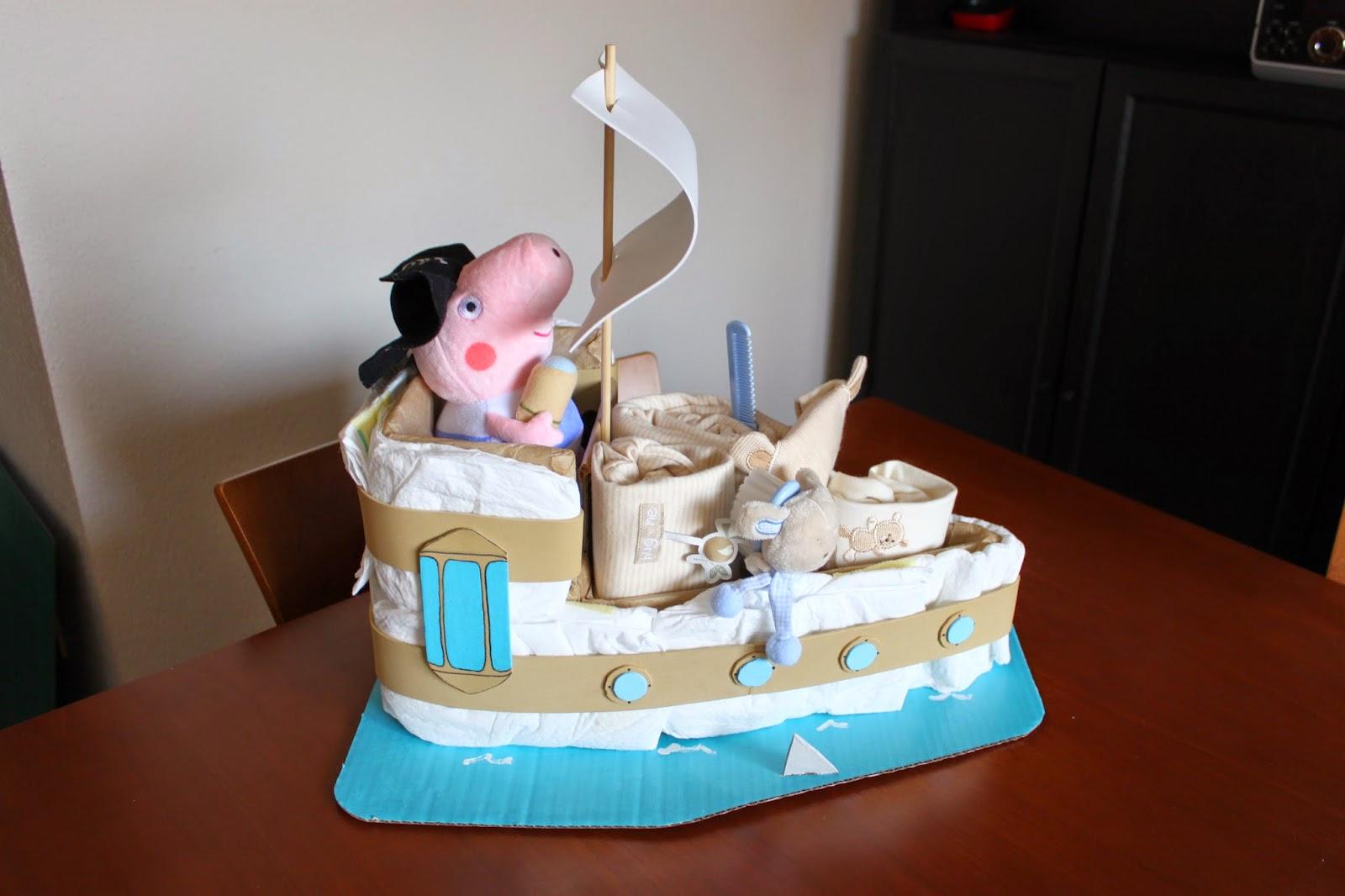 Art en bolquers Barco pirata de paales