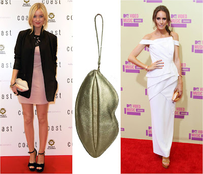 Amarelo Bordô+Clutch Boca+ Laura Whitmore+Louise Roe+Lulu Guinness