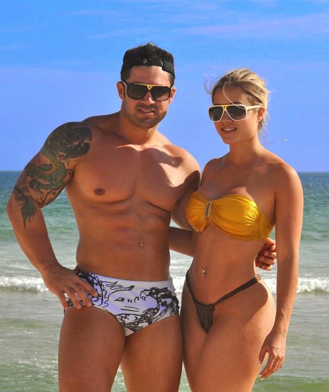 Wellington Júnior e Aryane Steinkopf mantinham um relacionamento de sete anos. Foto: Divulgação