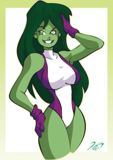 She-hulk por RickCelis