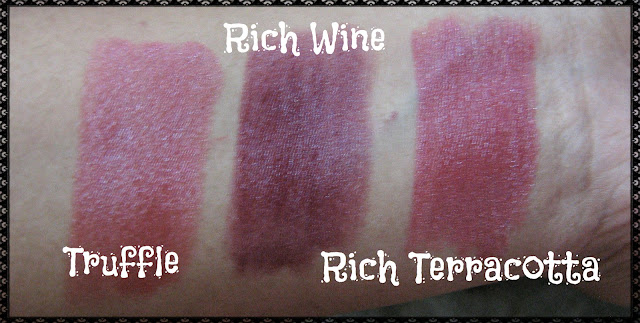 Avon Simply Pretty Lipstick Swatches 4
