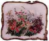 Wall Mountable Flower Plate