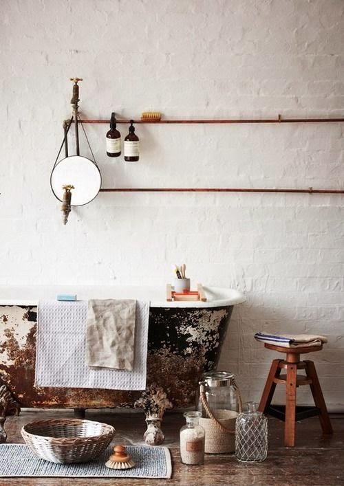 atelier rue verte le blog for my home id es d co 9 le tuyau en cuivre. Black Bedroom Furniture Sets. Home Design Ideas