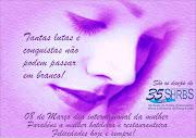 Dia internacional da mulher. Postado por SHRBS Passo Fundo às 13:59