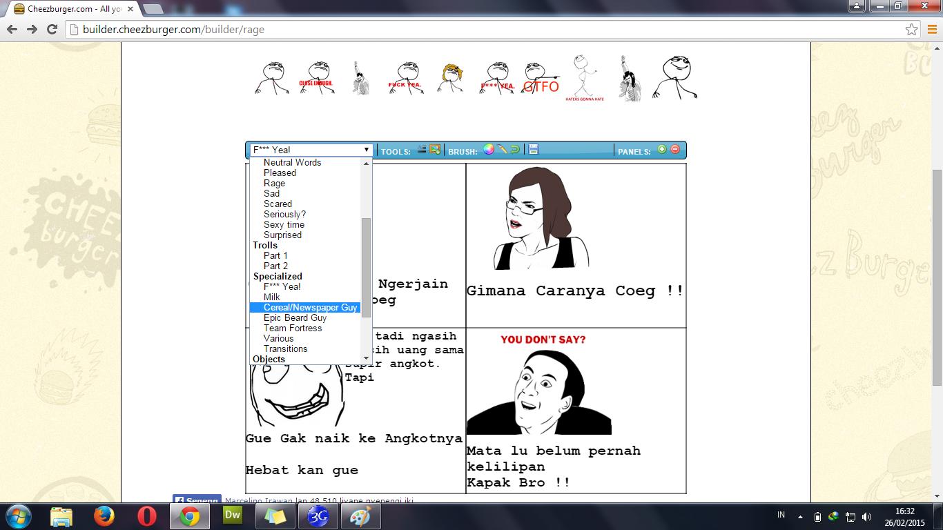 3 Website Pembuat Rage Comic Dengan Mudah