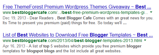 how title tag looks like in search engine