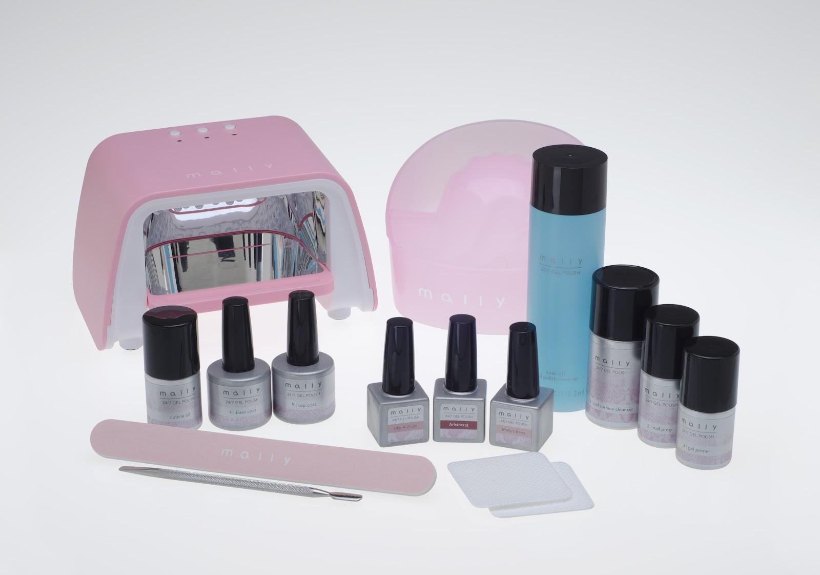 Mally Beauty Introduces An At Home Gel Polish Kit