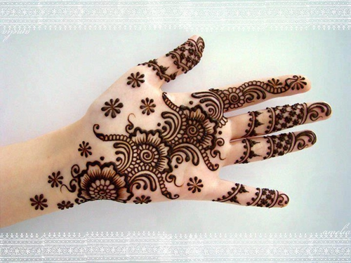 Arabic Mehandi Designs