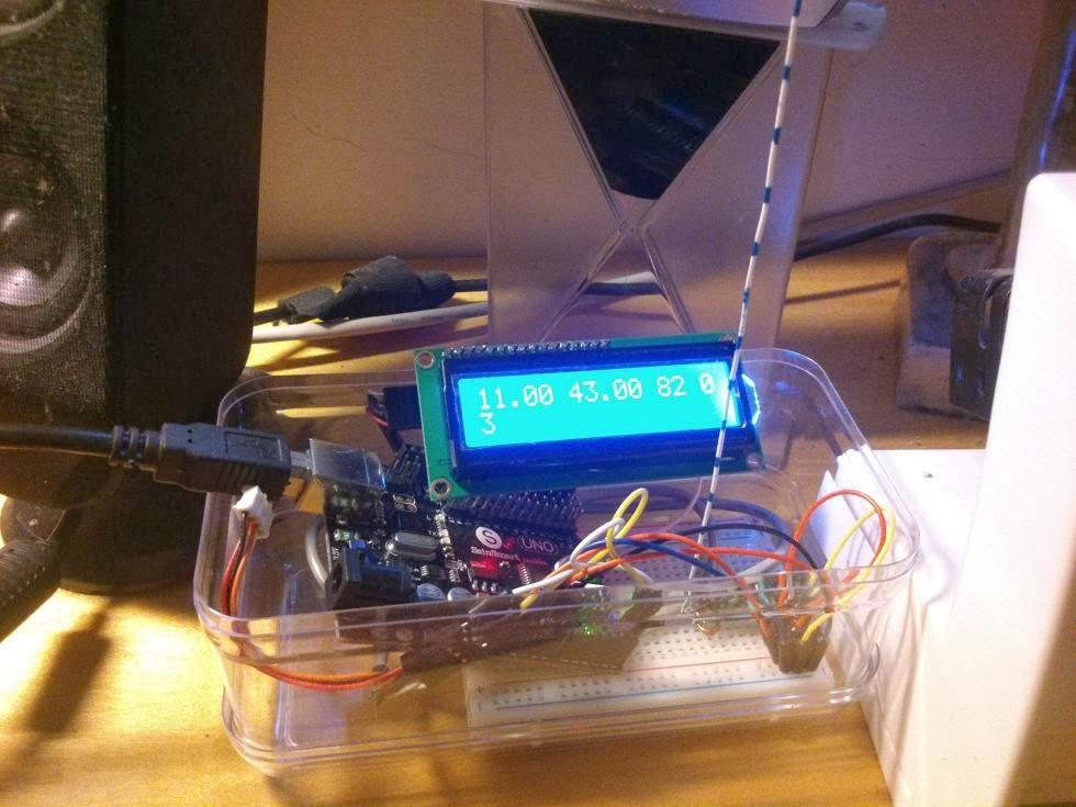 Arduino weather station vanceance