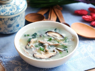 Vegetarian Mushroom Porridge Recipe