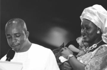 Three-Years Bareness Destroyed! - Mr. and Mrs. Peter Okonkwo Chidubem