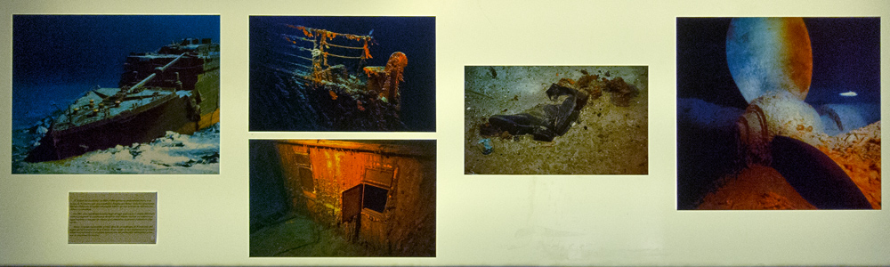 Titanic bajo el mar