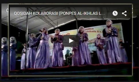 KOLABORASI (PONPES AL-IKHLAS LLG) (Qasidah Sumsel)