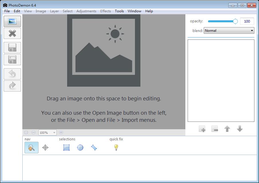 免費影像處理軟體推薦 (具圖層功能):PhotoDemon Portable