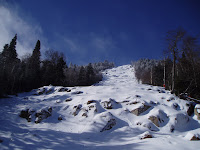 Gore Mountain's signature double black diamond trail, Rumor: victim of 2011-12's poor winter weather.  The Saratoga Skier and Hiker, first-hand accounts of adventures in the Adirondacks and beyond, and Gore Mountain ski blog.