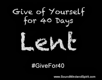 Lent, Givefor40