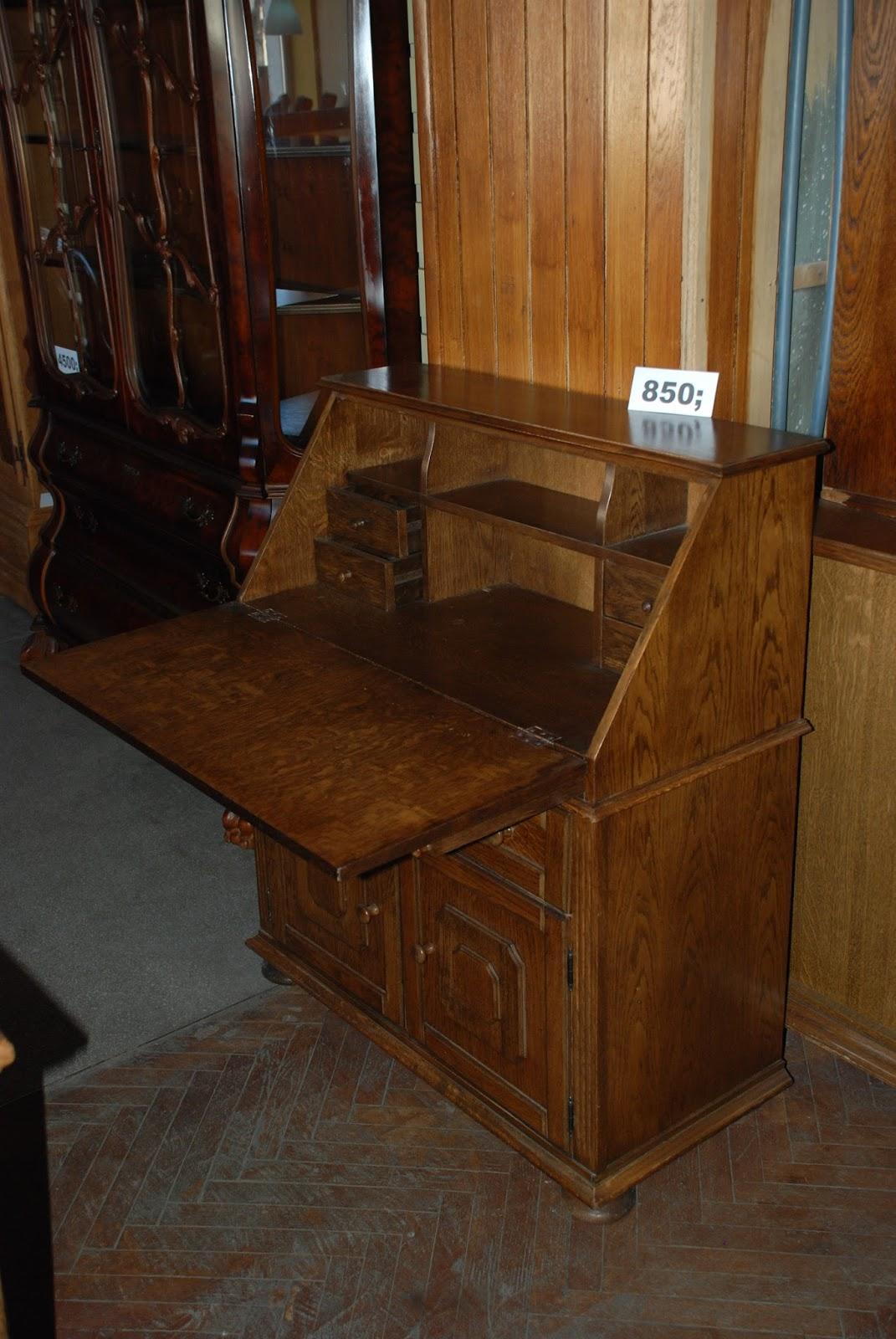 meble stylowe warszawa sekretarzyki i biurka