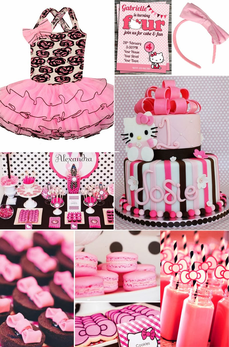 Hello Kitty Birthday Party Decorations Image Inspiration Of Cake