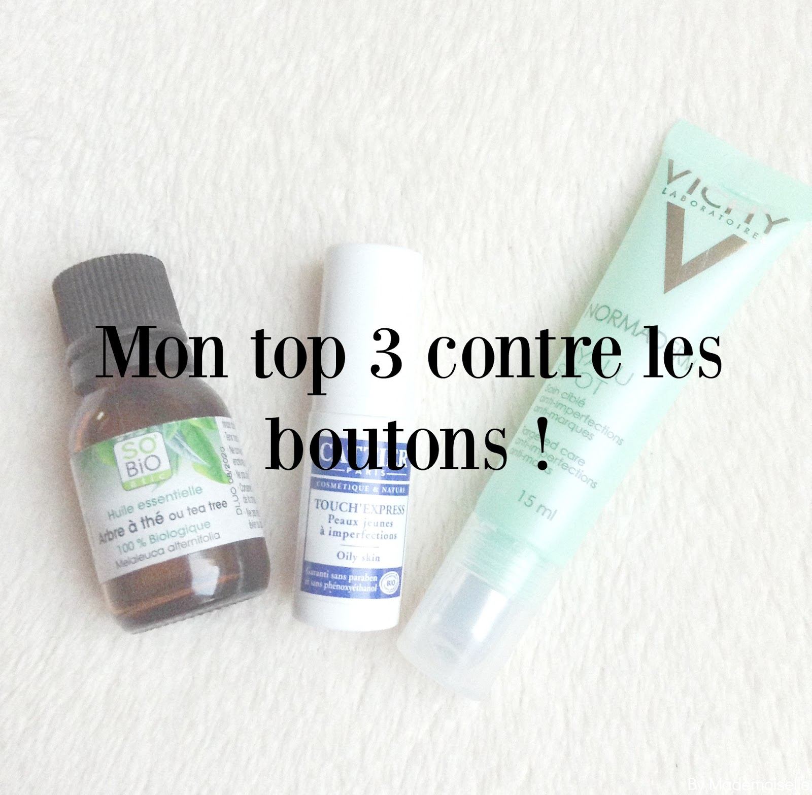 mon top 3 contre les boutons by mademoiselle. Black Bedroom Furniture Sets. Home Design Ideas