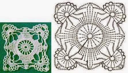 Hobby lavori femminili ricamo uncinetto maglia for 100 piastrelle all uncinetto