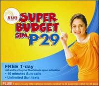 SUN Super Budget SIM