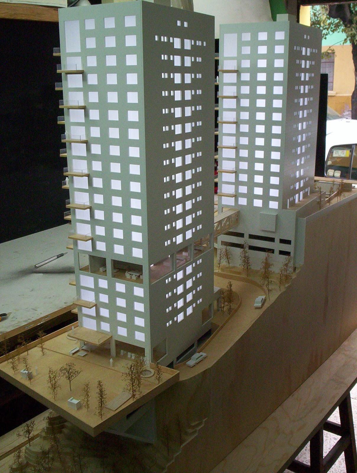 Maqueta de conjunto for Maquetas de apartamentos modernos
