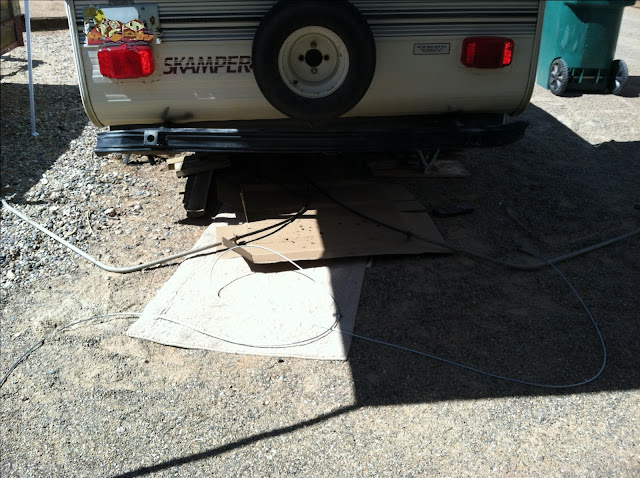 how to fix broken crank on pop up camper