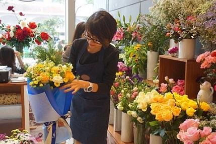 Kết quả hình ảnh cho kinh doanh hoa