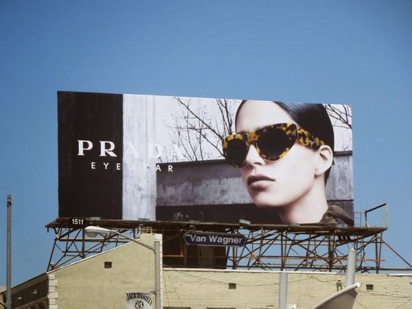 Prada Eyewear FW 2014 billboard